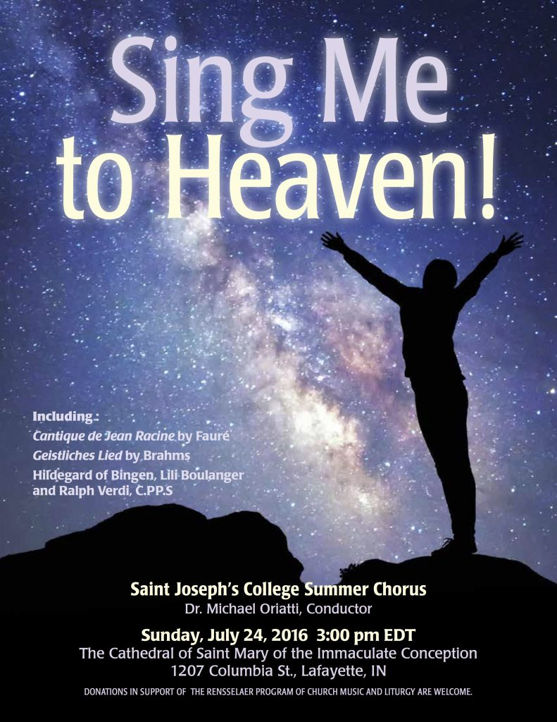 Sing Me to Heaven!